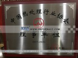Governing Member of China Heat Treatment Industry Association