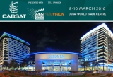 Hall2, B2-50e, 8th-10th, March, 2016 CABSAT Dubai Trade Show