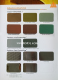 Color Chart - Special Metal Composite