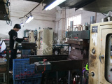 Silicone wristband production workshop
