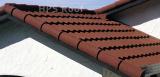 Bond roof tile house building