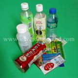 PVC/PET shrink labels for bottle, can,container, or dry battery wrapping