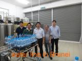 water line in Brunei