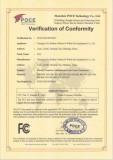 FCC for power meter