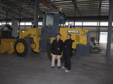 Indonesia customer visit our wheel loaders