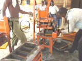 Mini Block Making Machine
