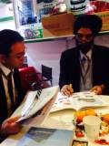 Client Meeting in Automechanika-Karan