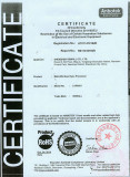 Products certificates LVP8601 ROHS