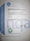 NQA Certificate