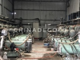 Degold 100 Liters Horizontal Bead Mills at User′s Site