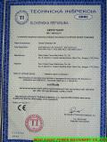 CE Certificate for Diesel Generator