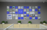 Company photo wall