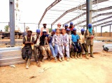 Kenya Prefabricated Steel structure workshop