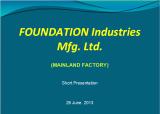 Company short presentation