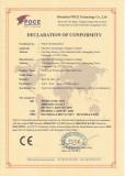 BEX CE Certificate