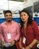 Wisdom cap lamp in South America Expo