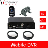MINI Car video recording with 4pcs mini camera, 360 degree monitoring your car