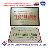 Guangdong province enterprise of observing contract and valuing credit