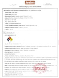 Material Safety Data Sheet(MSDS)