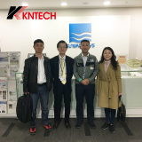 Japan our customer Sanwa visited kntech good cooperation