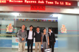 Client from Vietnam buy the HF frequence machine