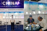 Keou attend the Indonesia International lighting exhibition on 17-19th May 2017
