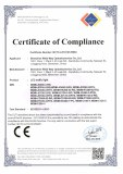 LED traffic light RoHS certificates