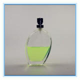 Elegant Shape Transparent Glass Perfume Bottle with Sprayer (CKGPR130428)