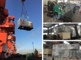 2 sets of 150KW Cummins Diesel Generator ship to Solomon Islands
