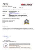 SGS Certification 1