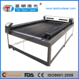 CNC control large laser cutting bed with good quality configuration