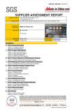 SGS Certification 2