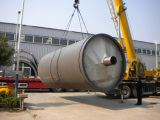 2800-6000 Reacator ,pyrolsyis reacator loading
