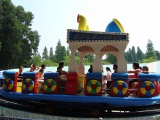 children′s pirate ship- rotary swing boat