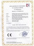 Certification for TDGC2,TSGC2 Voltage Regulator