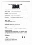 CE Certificate For Pex-Al-Pex Pipe