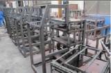 machine frames in weld workshop