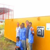 Our International installation team