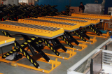 Chile Customer Ordered 6sets Roller Lift Table