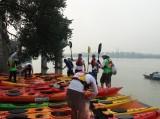 2011 Year Fuyang Canoe & Kayak Festival-Winner Kayak Participated