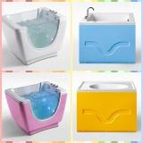 family bathroom baby bathtub
