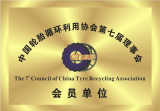 Member of China Tyre Recycling Association