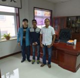 Indian Customers Visiting Our Factory