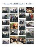 Customers visit us season IV 2014