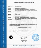 C-Tick Certificate for Body Camera