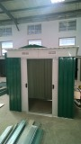 sample of garden shed in our workshop