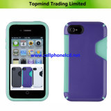 Mobile Phone Case with Card Slot for iPhone 4 4s