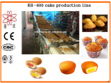 KH 600 automatic cake making machine/cup cake machine