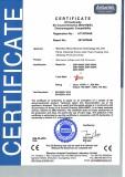 CE EMC Certification for GWV-500W Grid Tie Inverter
