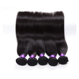 100% virgin human hair weave